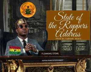 Flowking Stone stare of the rappers address